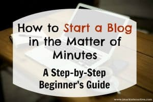 The Step-by-Step Guide to Starting a WordPress Blog