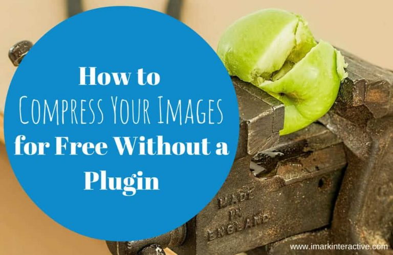 How to Compress Your Images for Free Without a Plugin