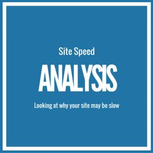Site Speed Analysis