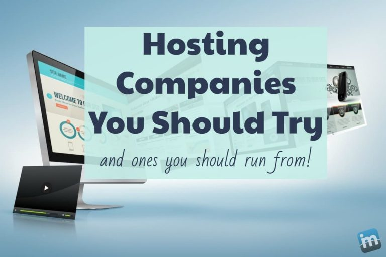 The Hosting Companies We Work With and Recommend