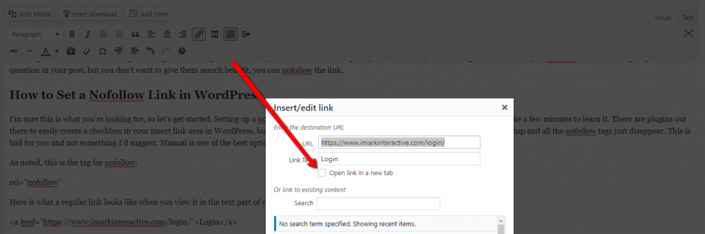 When to Use Nofollow & How to Add in WordPress (Including