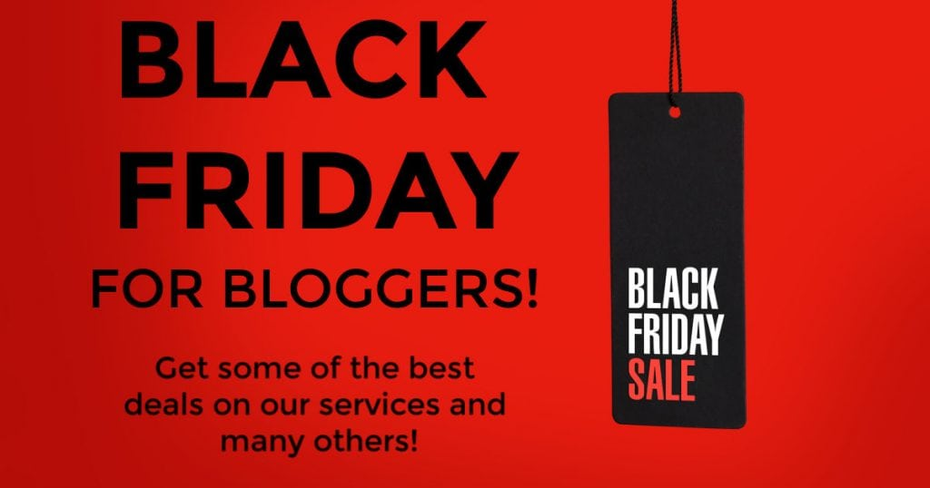 Black Friday for Bloggers Sale