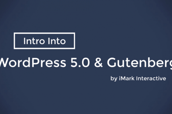 WordPress 5.0 With Gutenberg Is Coming Soon, Plus Video Demo!