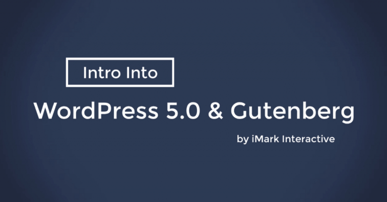 WordPress 5.0 With Gutenberg Is Here, Plus a Demo Video