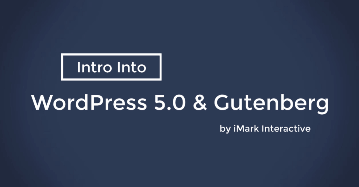 WordPress 5.0 with Gutenberg Demo