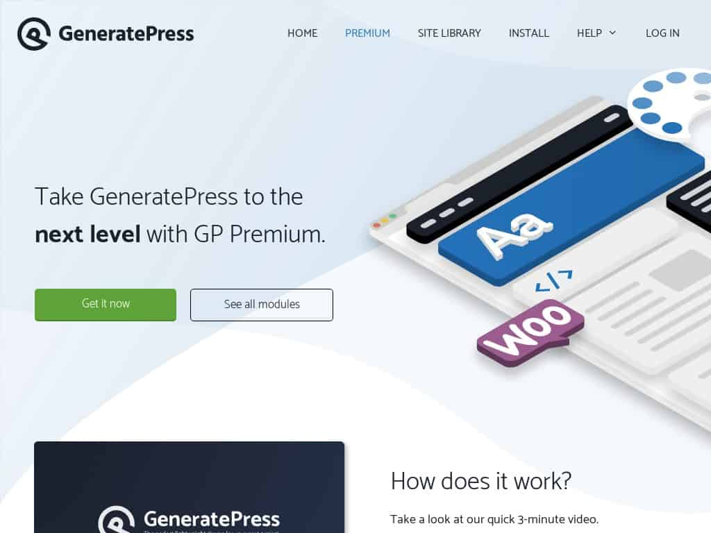 Generatepress premium theme