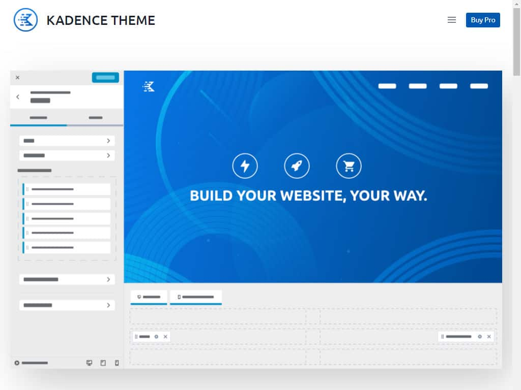 Kadence theme screenshot