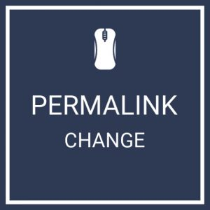 Permalink Change Service